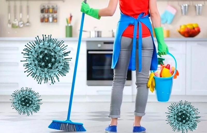 Как правильно дезинфицировать дом во время коронавируса.
